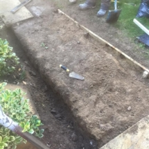 Garden Slabs Before